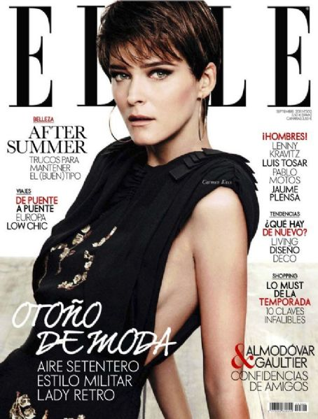 Carmen Kass - Elle Magazine Cover [Spain] (September 2011)
