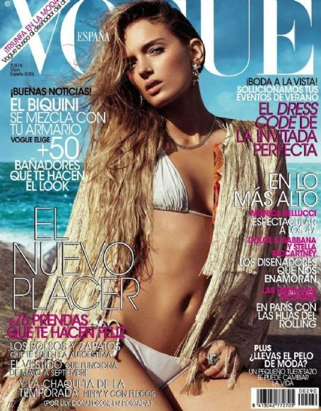 Lily Donaldson - Vogue Magazine Cover [Spain] (May 2012)