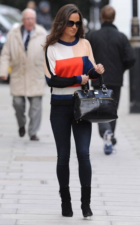 Pippa Middleton's London Mane Pampering