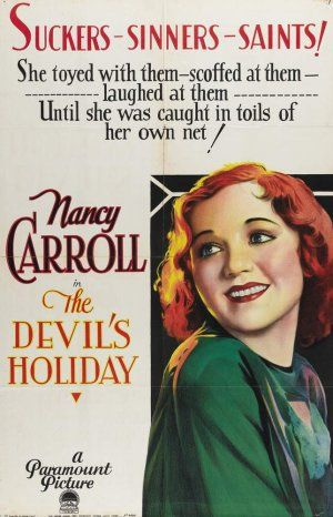 The Devil's Holiday (1930) Poster
