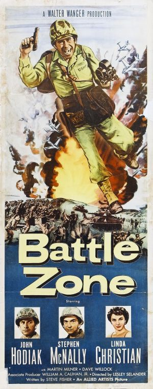 Battle Zone (1952) Poster