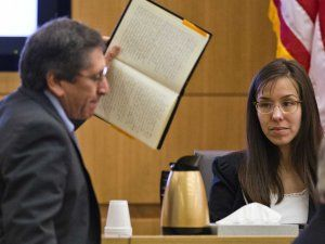 Juan Martinez Prosecutor  Challenges Jodi Arias About An Entry In Her Diary In Court
