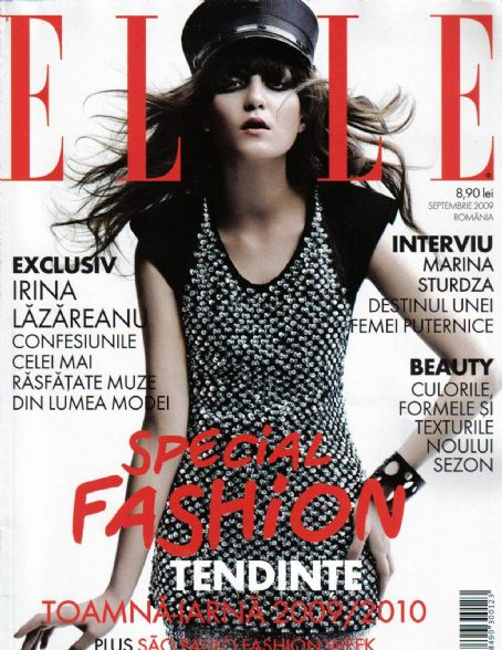 Irina Lazareanu - Elle Magazine [Portugal] (September 2009)