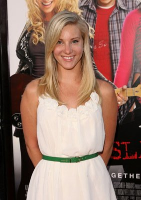 Heather Morris Bandslam - Los Angeles Premiere