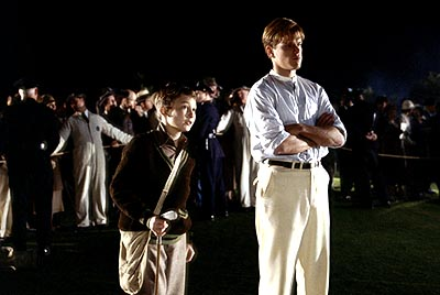 J. Michael Moncrief Hardy () helps Rannulph (Matt Damon) realize that the rhythm of the game is a lot like the rhythm of life in Dreamworks' The Legend of Bagger Vance - 2000