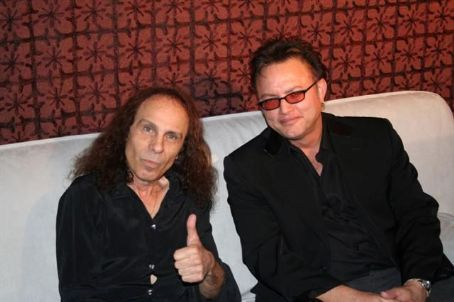 Geoff Tate  with Ronnie James Dio