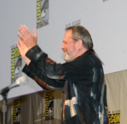 Terry Gilliam Comic-Con 2009 Day 1 photos -- mostly Hall H