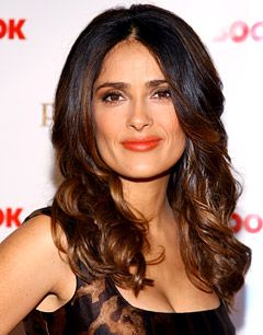 Salma Hayek Knighted in France