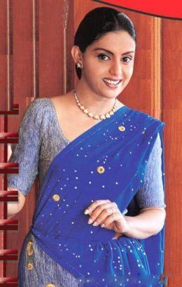 Yashoda Wimaladharma blue