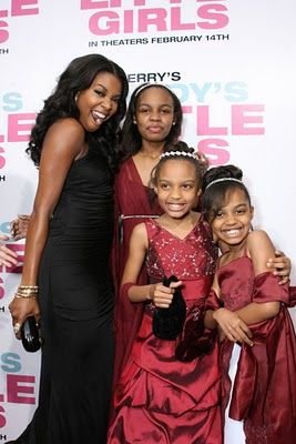 China Anne McClain Gabby Union, Sierra Aylina McClain, Lauryn Alisa McClain and  hit up the red carpet.