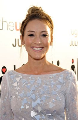 Bree Turner The Ugly Truth Los Angeles Premiere