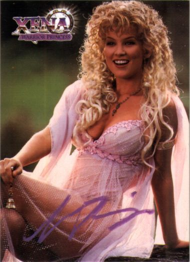 Alexandra Tydings as Aphrodite on Xena