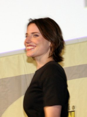 Antje Traue Comic-Con 2009 Day 1 photos -- mostly Hall H