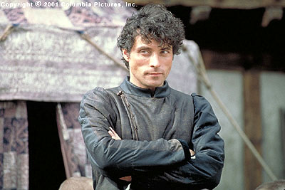 A Knight's Tale Rufus Sewell plays William's foe Count Adhemar, a ruthlessly charismatic champion determined to derail the young squire's dreams in the Columbia Pictures presentation, A Knight's Tale - 2001