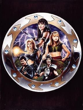 Bruce Campbell Some of The Xena Characters