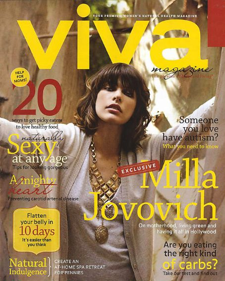 Milla Jovovich - VIVA Magazine [Canada] (March 2009)
