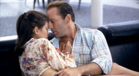Jane March Bruce Willis and  in Color of Night