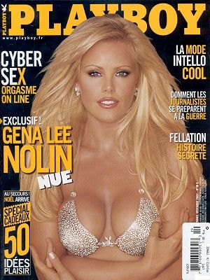 Gena Lee Nolin, Playboy December 2001