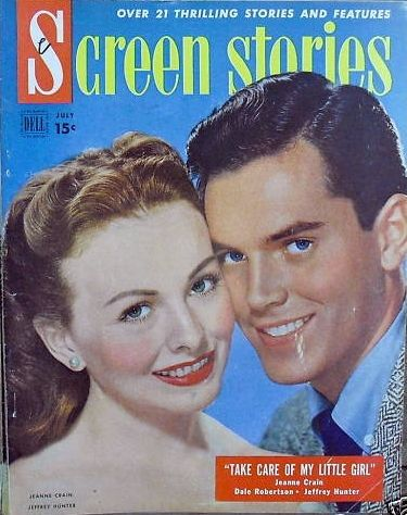 Jeanne Crain - Screen Stories Magazine [United States] (July 1951)