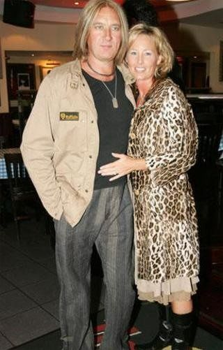 Joe Elliott and Kristine Elliott