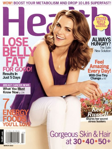 Keri Russell - Health Magazine Cover [United States] (March 2010)