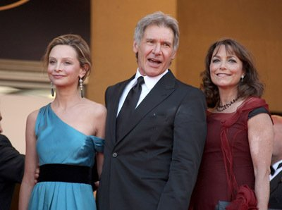 "Calista Flockhart and Harrison Ford - 2008 Cannes Film Festival - ""Indiana Jones and the Kingdom of the Crystal Skull"" Premiere"