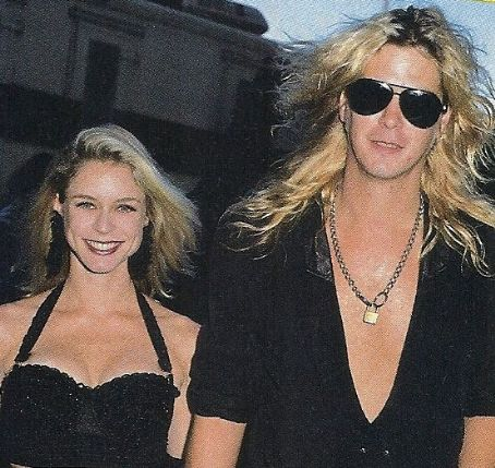 Duff McKagan and Amanda Mandy Brixx Duff McKagan and Mandy Brix at The MTV Video Music Awards 1989