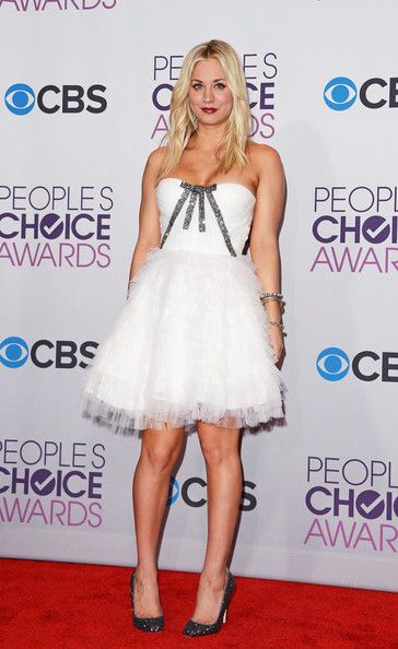 Kaley Cuoco: at the 39th Annual People's Choice Awards at Nokia Theatre L.A. Live