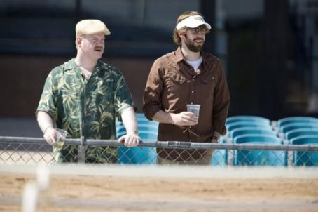 Jim Gaffigan Lowell and Burt.  (left) and John Krasinski (right) star in director Sam Mendes' AWAY WE GO, a Focus Features release.