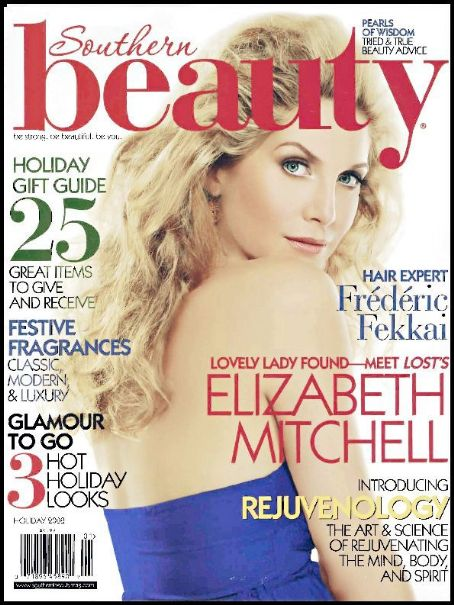 Elizabeth Mitchell - Beauty Magazine Cover [United States] (1 January 2009)