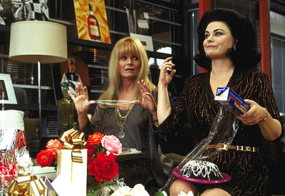 Valerie Perrine  and Delta Burke in Paramount's What Women Want - 2000