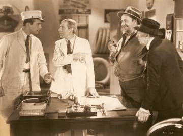 David Manners  & George Arliss