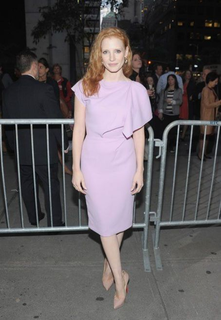 "Jessica Chastain: at the opening night premiere of ""If There Is I Haven't Found It"" in New York City"