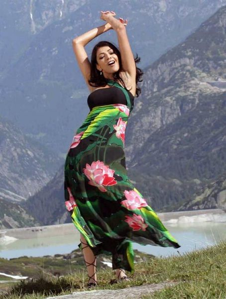 Kajal Agarwal  dancing n songs in movies