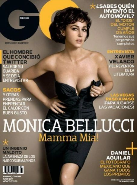 Monica Bellucci - GQ Magazine Cover [Mexico] (June 2011)