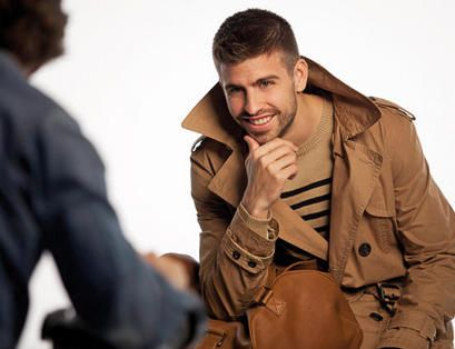 Gerard Piqué - Gerard Pique Behind the scenes of Mango Shoot S/S 2011