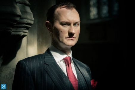 Mark Gatiss Sherlock Photos - Season 3