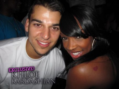 Malika  and Robert Kardashian Jr