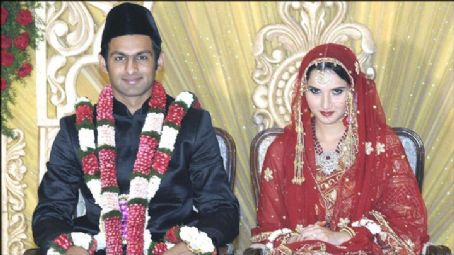 Shoaib Malik Sania Mirza and