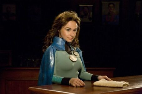 Danielle Harris  star as Felicia Freeze in Ray Griggs' Super Capers. Photo by Phil Nee.