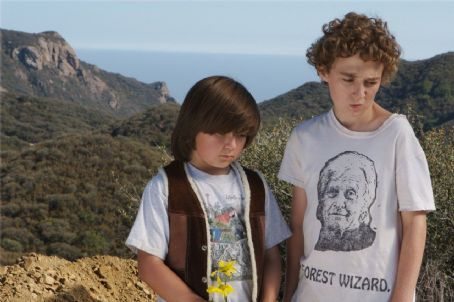 Happiness Runs Joseph Castanon as Little Mackie and Tyler Steelman as Nardo in