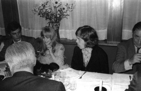 Marianne Faithfull - Marianne Fiathfull and Mick Jagger