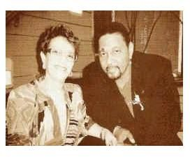 Aaron Neville Aaron with first wife Joel
