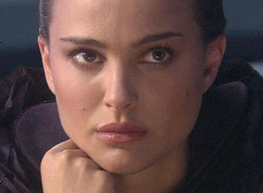 Padmé Amidala Natalie Portman as Padmé Amidala in an action movie Star Wars: Episode III - Revenge of the Sith distributed by 20th Century Fox Film.