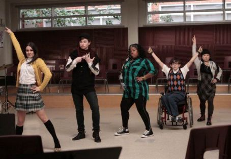 "Chris Colfer ""Glee"" (2009)"