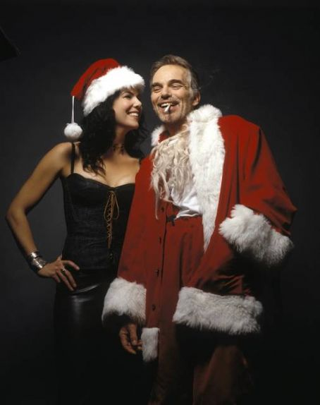Bad Santa Lauren Graham and Billy Bob Thornton in  (2003)