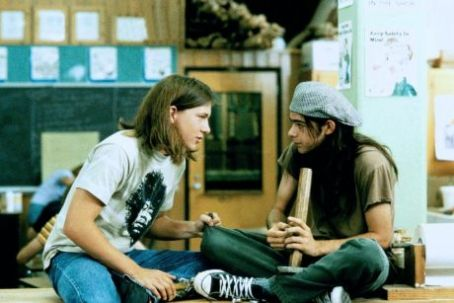 Dazed and Confused Rory Cochrane And Wiley Wiggins In Dazed And Confused (1992).