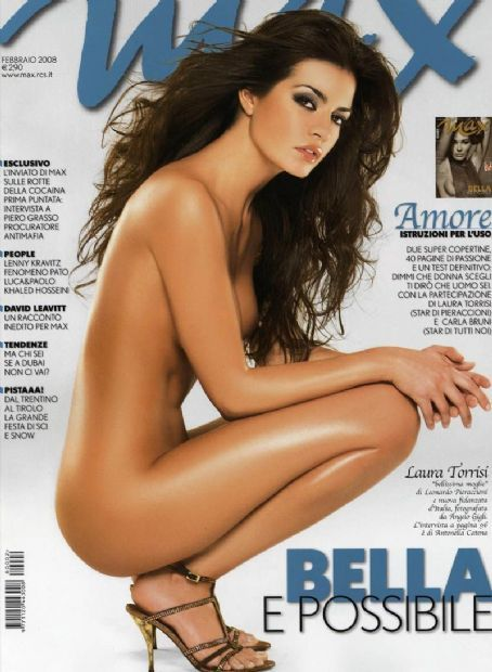 Laura Torrisi - Max Magazine Cover [Italy] (February 2008)