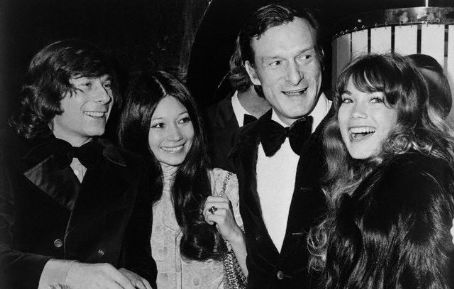Roman Polanski, Hugh Hefner, and Barbi Benton
