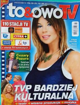 Edyta Górniak - To & Owo Magazine Cover [Poland] (15 October 2011)